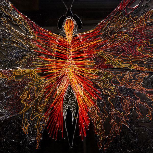Irene Manion_Papilio Ardere_detail_ 2020_Photo_courtesy of the artist