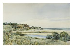 Image of Morning, mouth of the Hindmarsh, South Australia