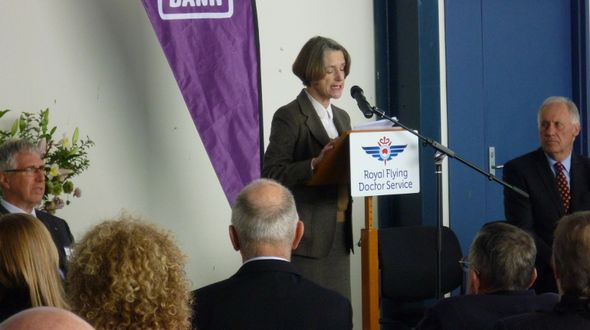 Governor of Tasmania launches RFDS and Foodbank partnership