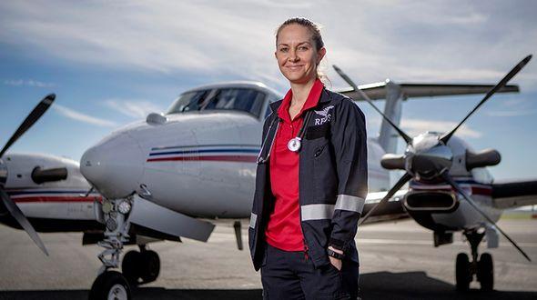 Flight Nurse Jacinta Jones helps outback patients