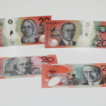 New $20 note released