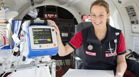 RFDS flight nurse finalist in the 2020 Year of the Midwife and Nurse Awards