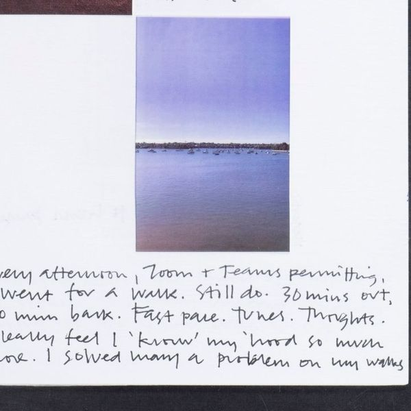 Mark Ian Jones, Design Isolate booklet page detail, 2020