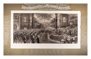 Image of Opening of first Federal Parliament by HRH the Duke of Cornwall and York