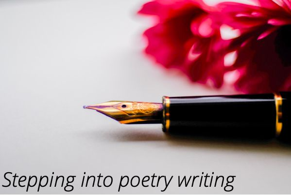 Stepping into poetry