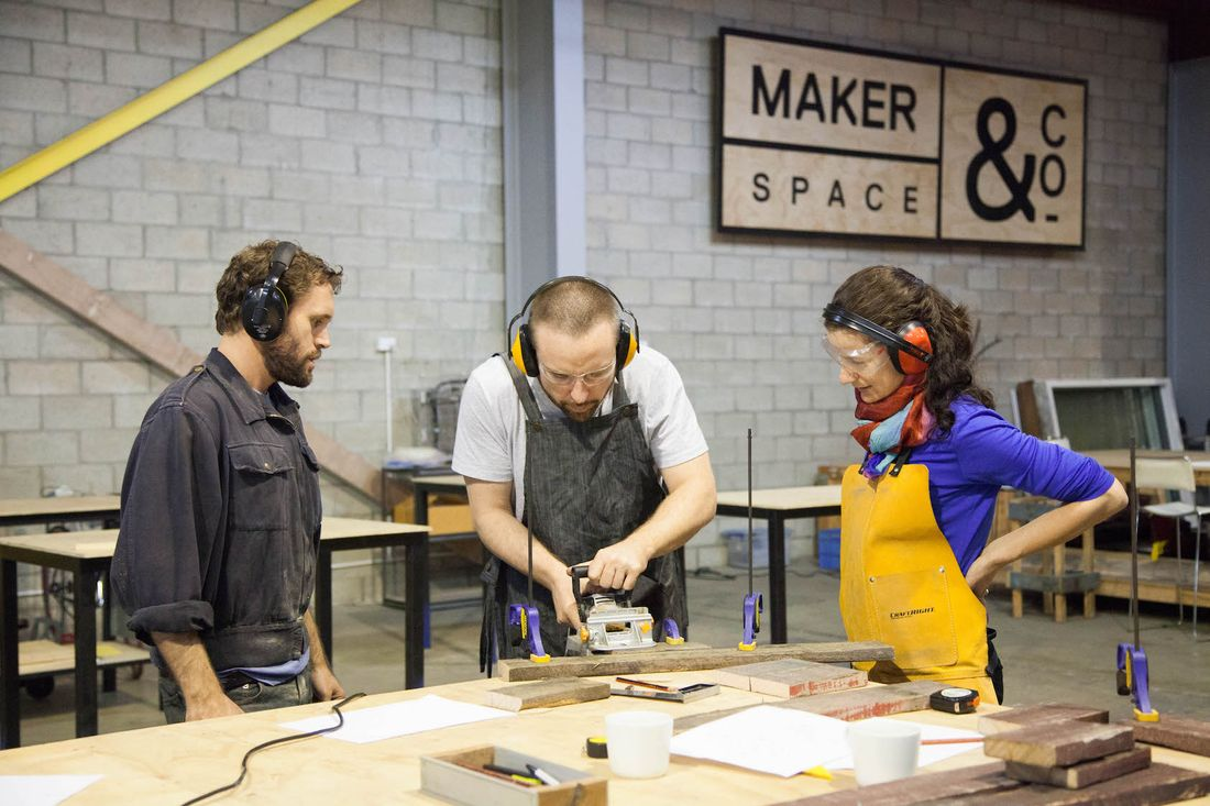 MakerSpace&co demonstration 2016