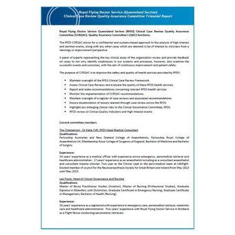 2020 CCRQAC Triennial Report