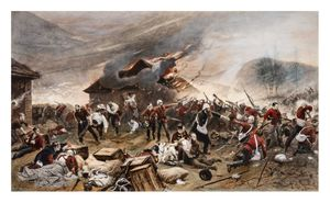 Image of The defence of Rorke's Drift 22-3 January 1879