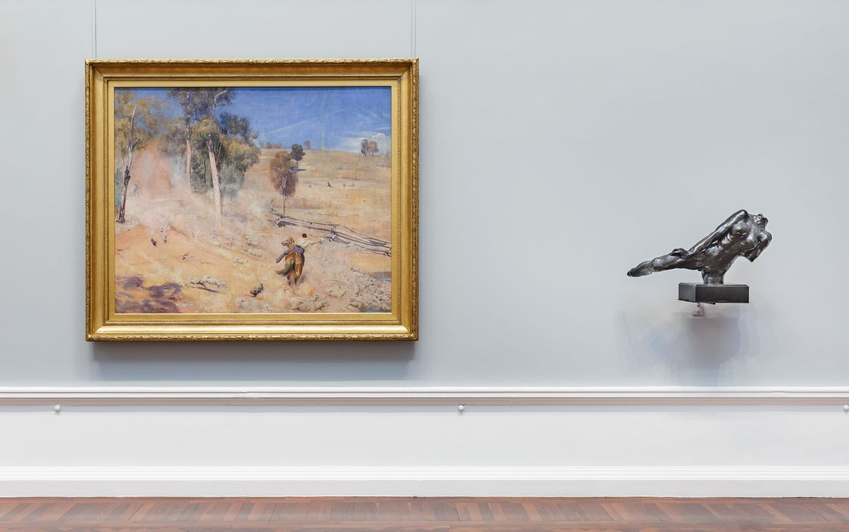Installation view: Elder Wing of Australian Art