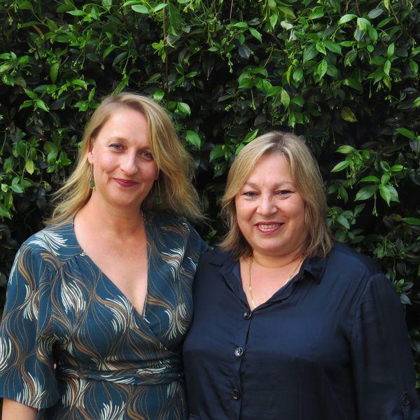 Anna Grigson and Maria Grimaldi. Sabbia Gallery.