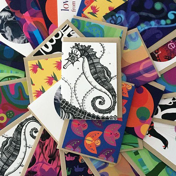 Emilio Frank Design card collection
