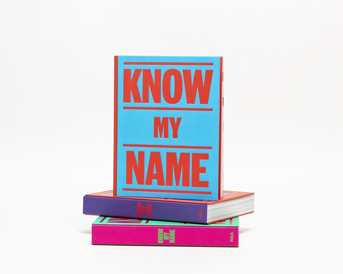 Stacked Know My Name book in three colour ways