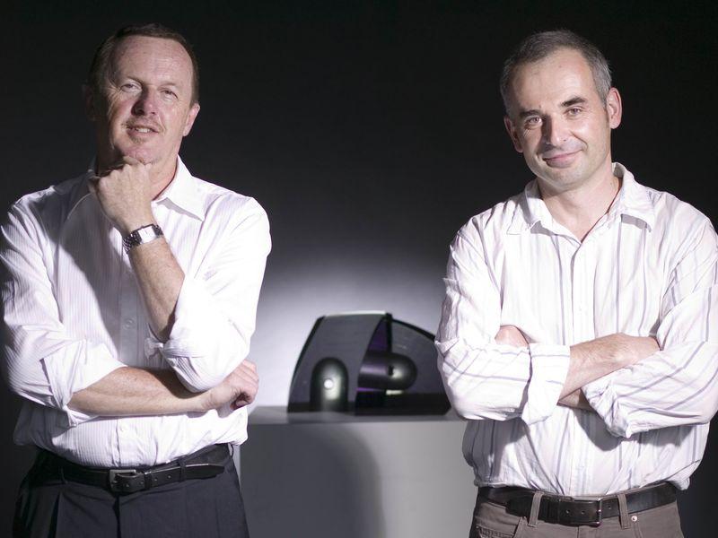 Frank Howarth and Richard Whitely