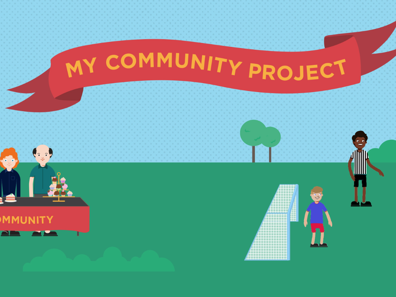 My community project artwork from NSW government