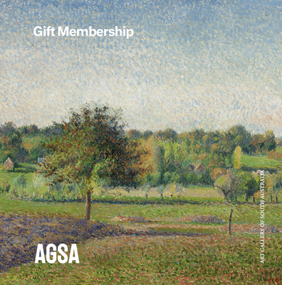 Membership gift pack featuring work by Camille Pissarro, 'Prairie à Éragny'.