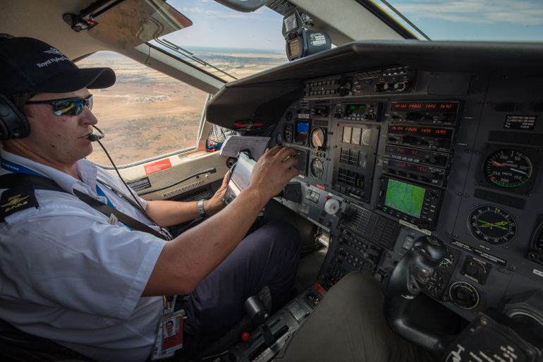 RFDS Queensland pilot, Nick Tully has been with the service for 6 years.