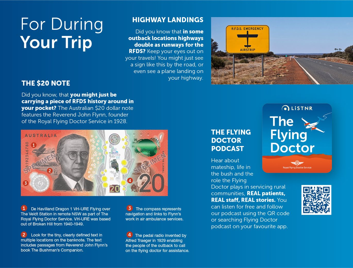 Fun RFDS Facts While Travelling