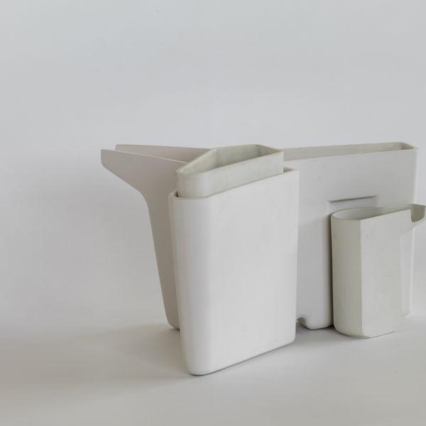 John Wardle and Simon Lloyd, System Vase, render, 2020