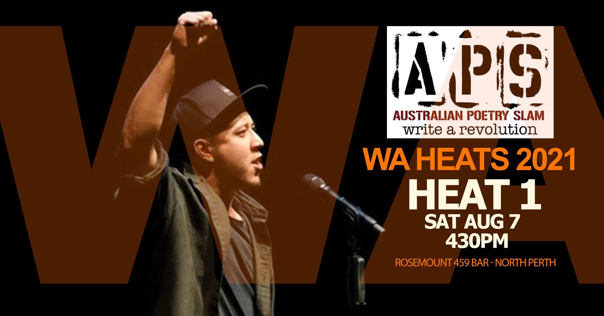 Heat 1 - WA Heats Australian Poetry Slam 2021