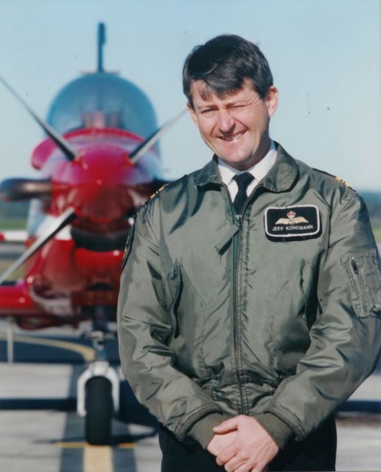 Jeff Koneman was formerly RAN chief flying instructor