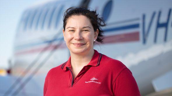 flight nurse justine powell queensland
