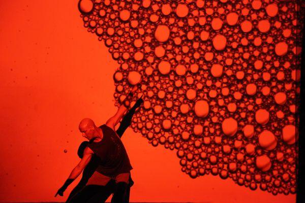 Jacob Boehme in Blood on the Dance Floor; photo: Dorine Blaise