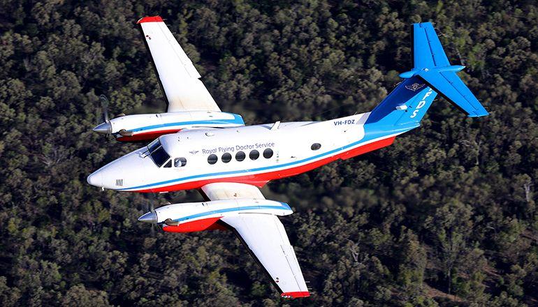 RFDS B200 aircraft