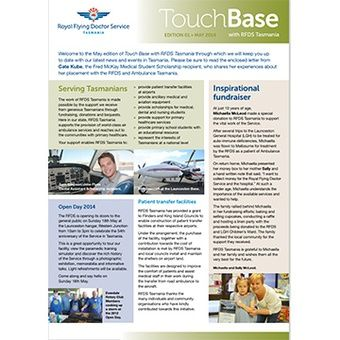 Touch Base - May 2014