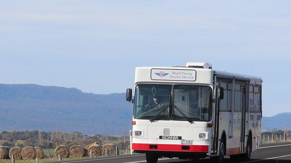 health hub bus