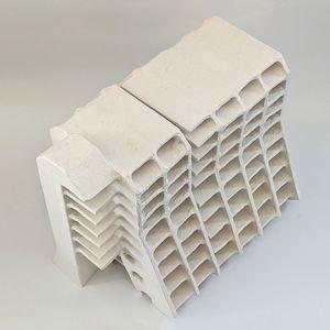 White ceramic architectural model of Greenmount Hotel