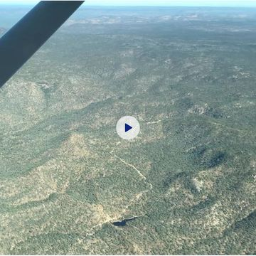 Flying Over Outback Qld