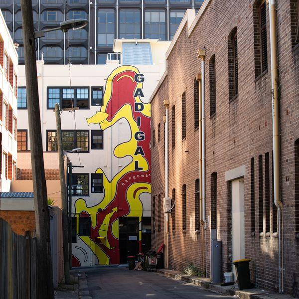 Gadigal Mural COS