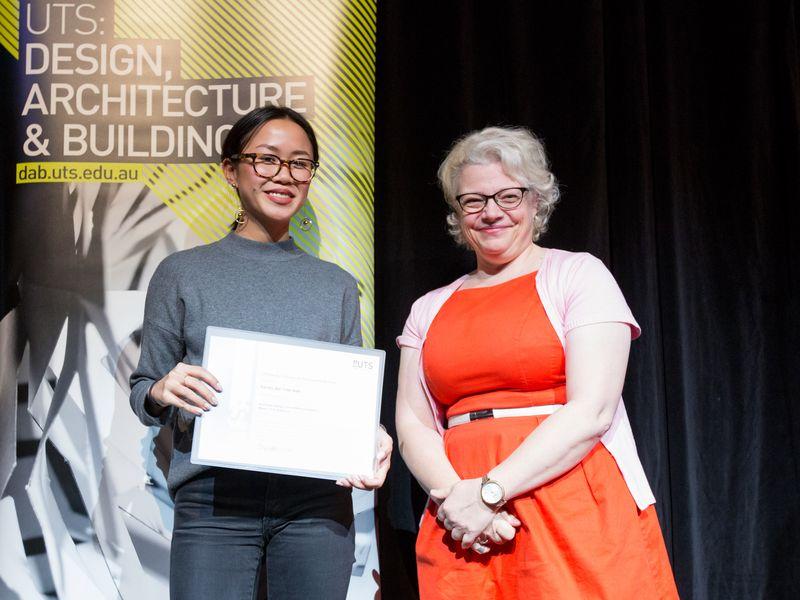 UTS Mentoring Award 2017 Rachel Wan