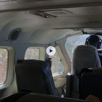 Inside RFDS aircraft