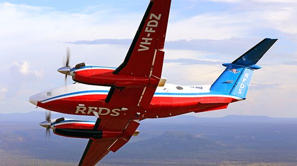 RFDS (Queensland Section) patient and aviation statistics
