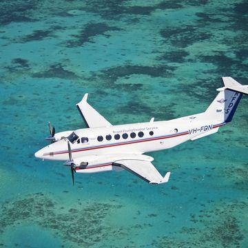 QLD Aircraft Ocean